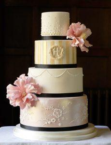 Parisian Style Wedding Cake