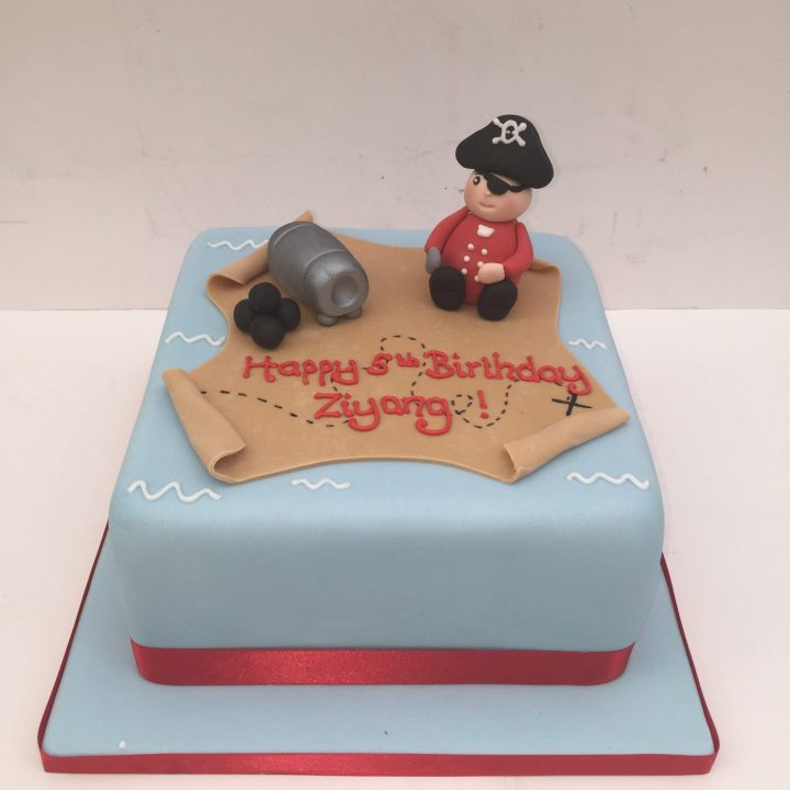 Pirate cake – Ahoy there me hearties!