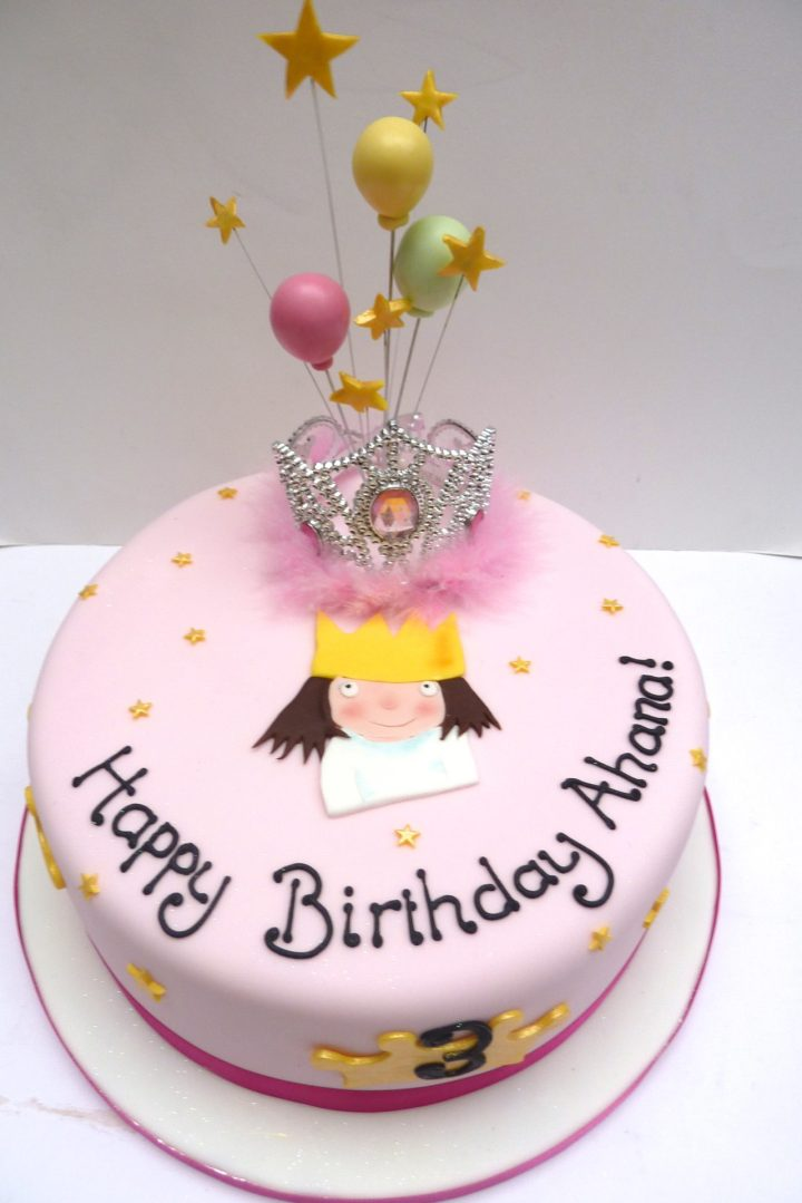 My Little Princess Birthday Cake