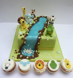 Raa Raa The Lion and Friends Cake