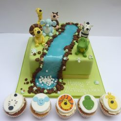 Raa Raa The Lion and Friends Cake