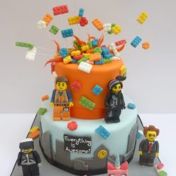 Lego Movie Cake