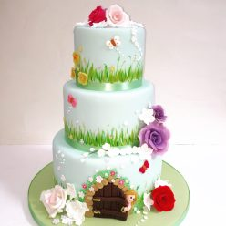 Secret Garden Birthday Cake