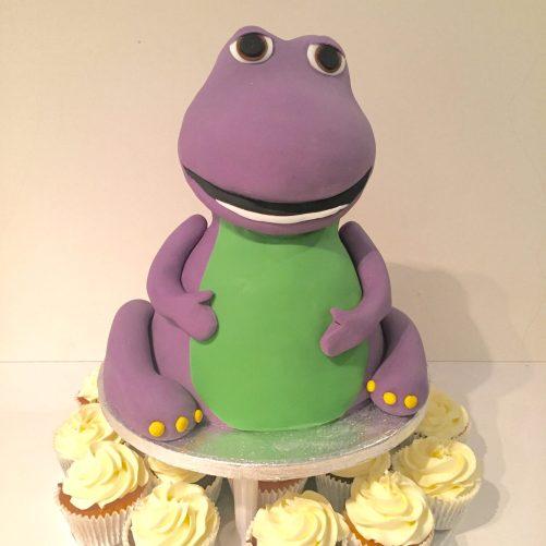 Barney Cake Tower