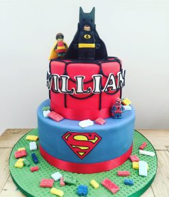 Lego Super Hero Cake