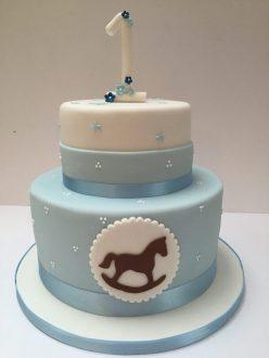 2D Rocking Horse Cake