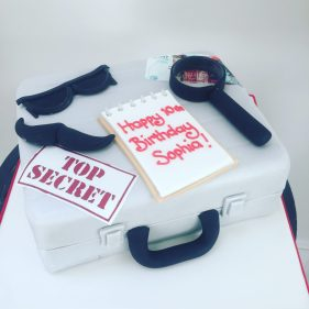 Spy And Detective Cake