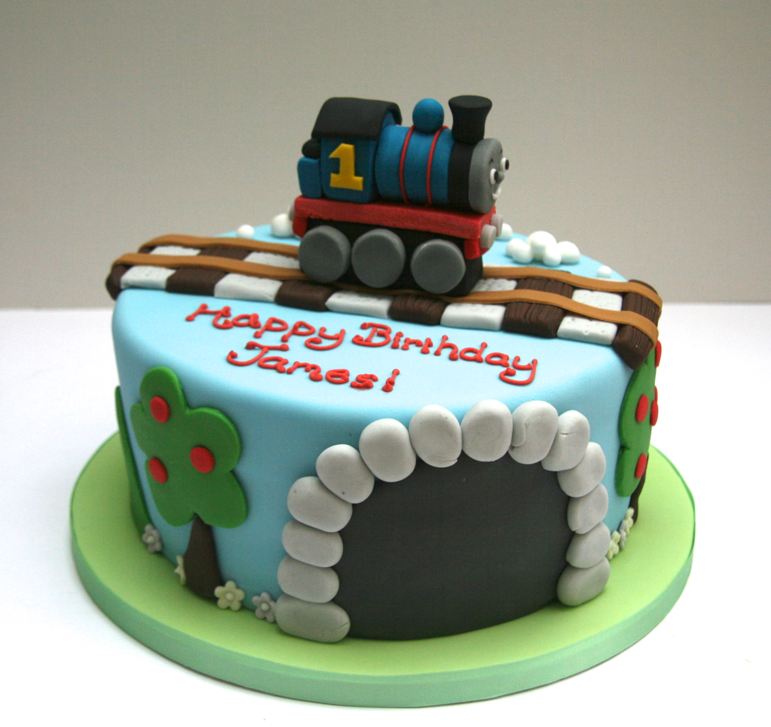 Ideas About Thomas Birthday Cakes