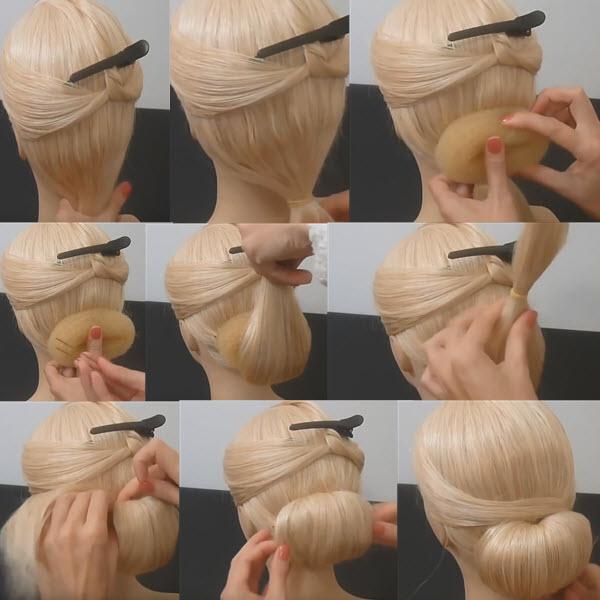 Пучок из волос как сделать. Попробуйте 7 методов как ...