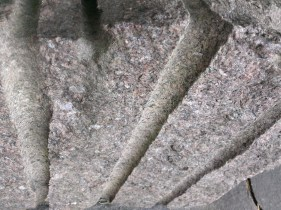 Lines in cut rocks