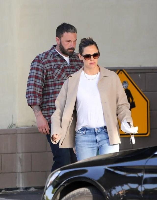 Jennifer Garner and Ben Affleck in Los Angeles Nov 8 2018