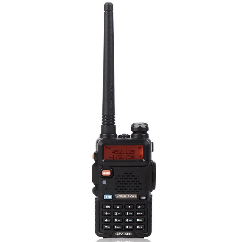 BAOFENG UV-5R VHF/UHF Dual Band Two Way Ham Radio Transceiver Walkie Talkie 24