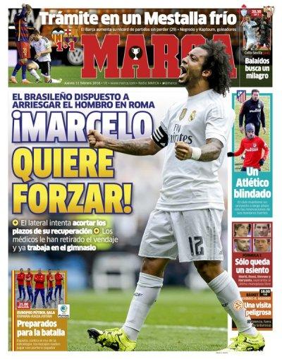 صحف مدريد الخميس 11-2-2016