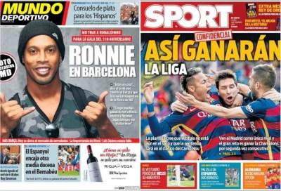 صحف برشلونة الاثنين 1-2-2016