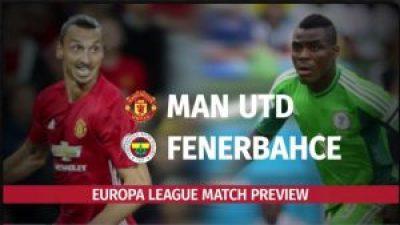 مشاهدة مباراة فنربخشة ومانشستر يونايتد بث مباشر بتاريخ 03-11-2016 الدوري الأوروبي