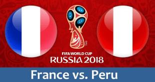 مشاهدة مباراة فرنسا والبيرو بث مباشر بتاريخ 21-06-2018 كأس العالم 2018