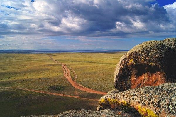 """Дорога к озеру """"Торе-холь"""". Вид с горы """"Кара-хая ..."""