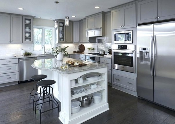 Add an Island in the Kitchen - Best Kitchen Renovation Ideas - ET Painting
