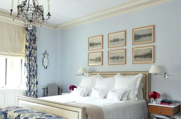 Sky Light Blue - Soft Bedroom Paint Colors