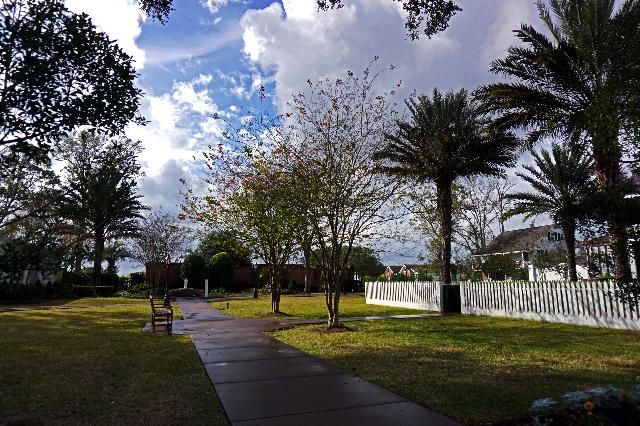 Les jardins de la plantation Nottoway