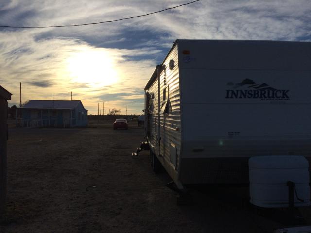 Au camping de Fort Stockton