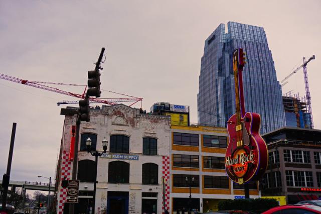 Le Hard Rock Café de Nashville