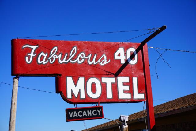 Un beau motel qui vient presque d'être inauguré