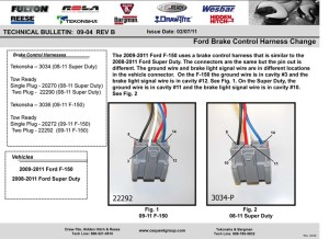 Electrical wiring ford e450