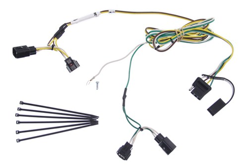 2004 Jeep Wrangler Curt T-Connector Vehicle Wiring Harness