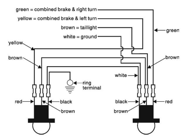 Wiring Roadmaster Bulb And Socket Kit # RM-155