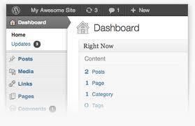 Wordpress dashboard, fully-managed gets even friendlier