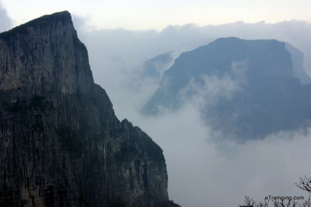 Monumental mountains in ZhangJiaJie