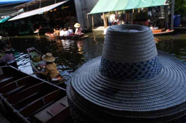 Hat, Floating Market, Bangkok