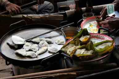 Chinese vegetable dumplings