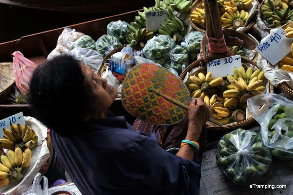 Floating Market in Bangkok