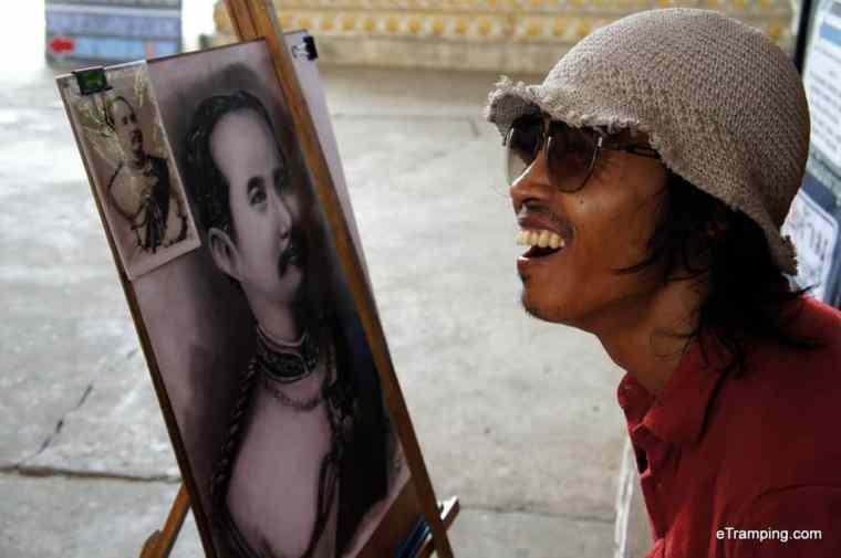 Thai painter