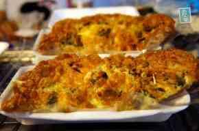 Prawn omelette. Price: 60 Baht= $2
