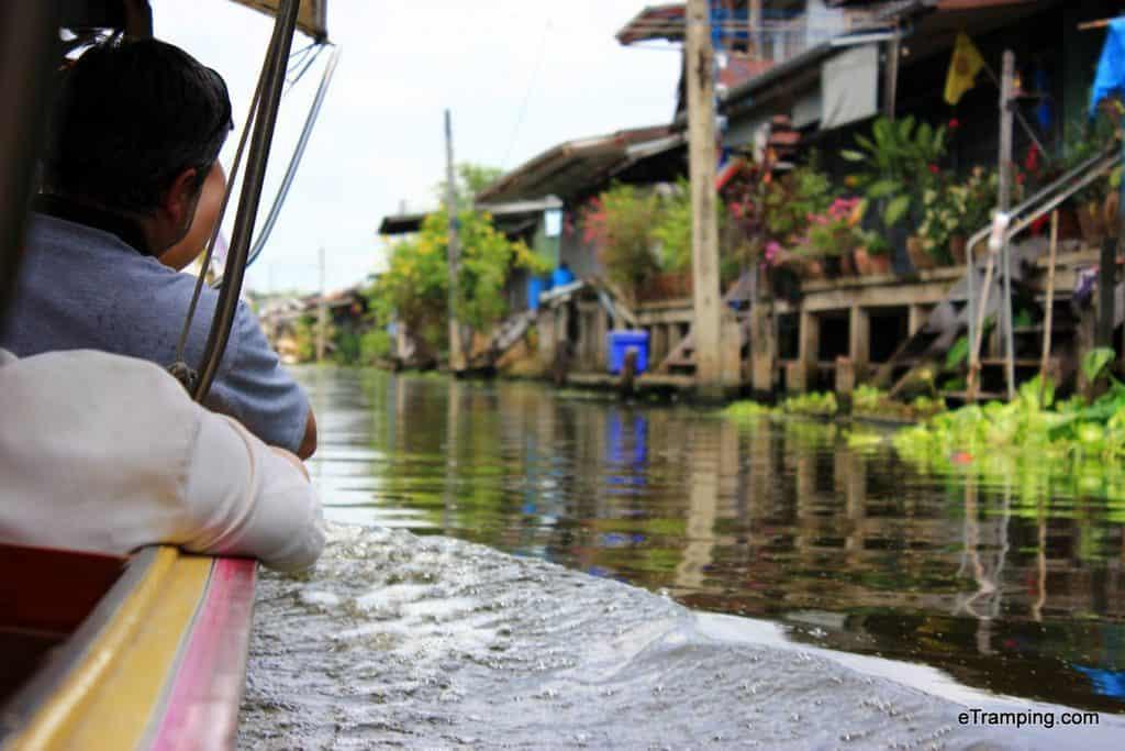 Boat riding