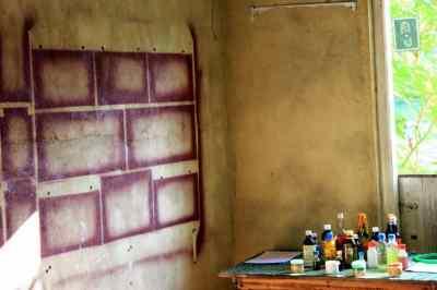Herbs shop in Pinnawala