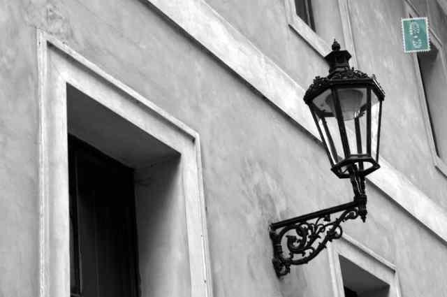 Street lamp in Prague