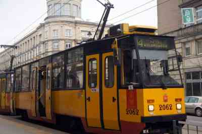 Local trams in Warsaw