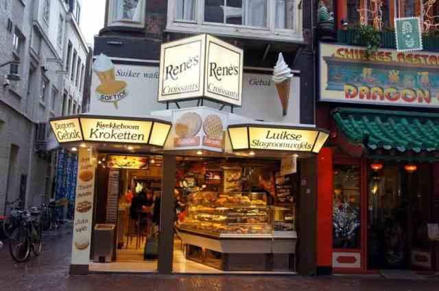 Dutch pastry shop