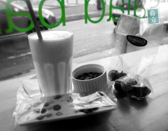 Hot chocolate and chocolate