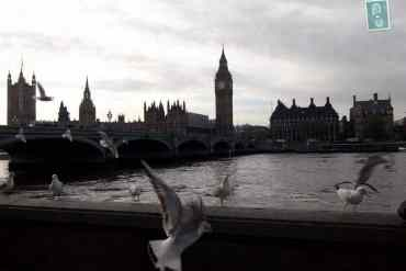 Thames with Big Ben in the background
