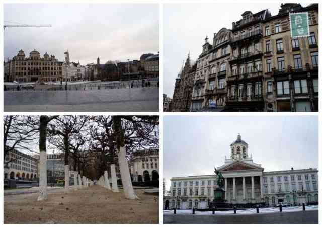 4 photos of Brussels, city centre