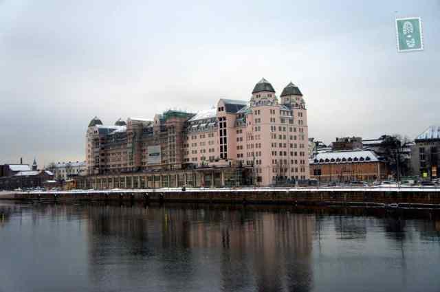 Beautiful building in Oslo
