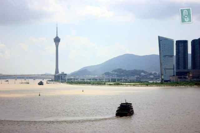 The stunning view of Macau