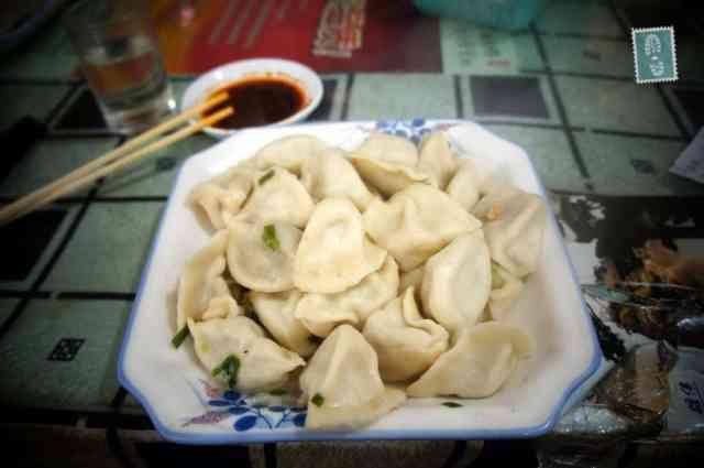 A plate of Jiaozi