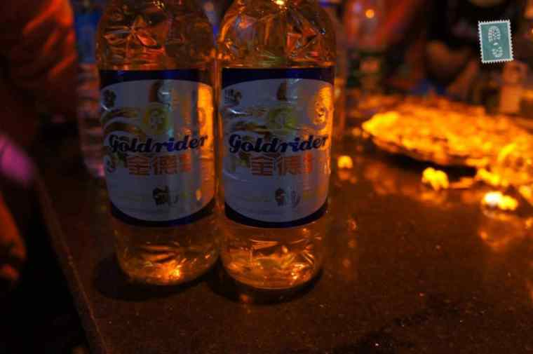 Chinese beer in KTV