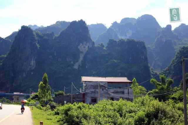 Vietnamese scenery mountains